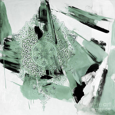 Painting - Abstract Art Gbh4 by Gull G
