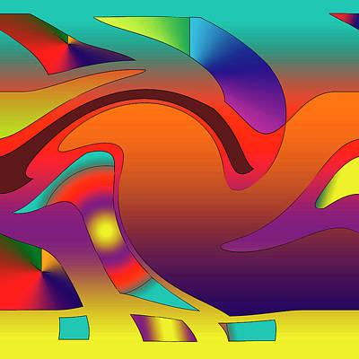 Digital Art - Abstract Art by Jesus Nicolas Castanon