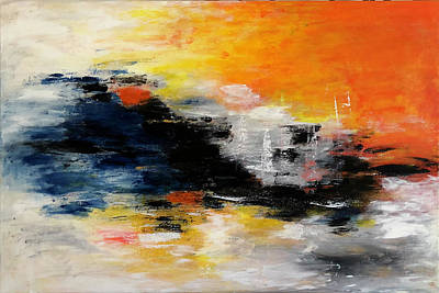 Painting - Abstract-art by Renate Dartois