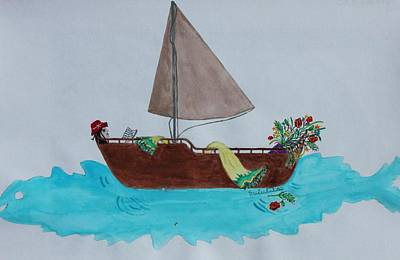 Holiday Variant 3 Art Print by Scientila Duddempudi