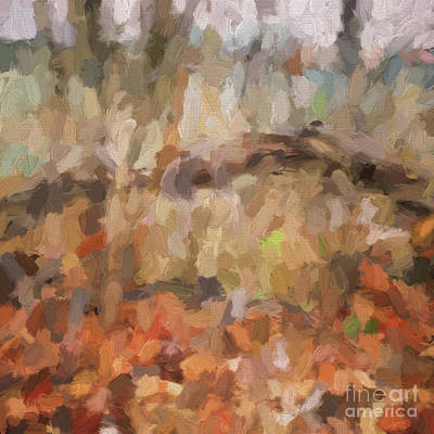 Photograph - Abstract Art - The Colors Of The Forest by Kerri Farley