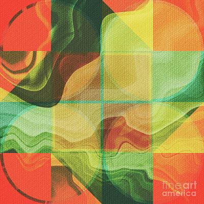Abstract Colorful Algorithmic Digital Contemporary Digital Art - Abstract Artwork by Gaspar Avila