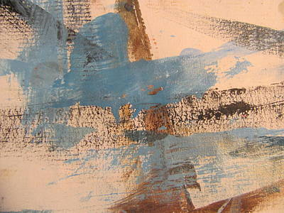 Painting - Abstract At Sea 4 by Anita Burgermeister
