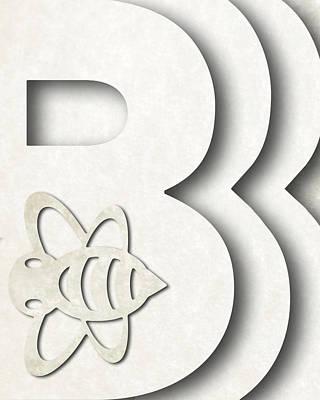 Bumble Digital Art - Abstract B by Vanessa Bates
