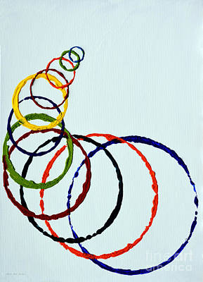 Painting - Abstract B131716 by Mas Art Studio