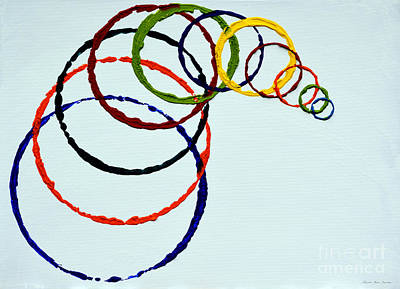 Painting - Abstract B31716  by Mas Art Studio