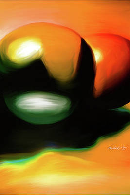 Painting - Abstract Balls by Pachek