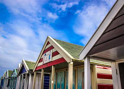 Photograph - Abstract Beach Huts by David Warrington
