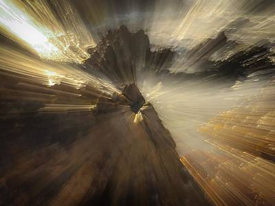 Photograph - Abstract Beach Zoom by Alistair Lyne
