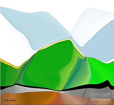 Digital Art - Abstract Beauty by Iris Gelbart