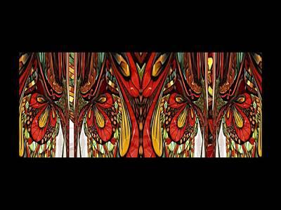 Digital Art - Abstract Bird by Nancy Pauling