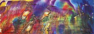 Abstract Birds Original