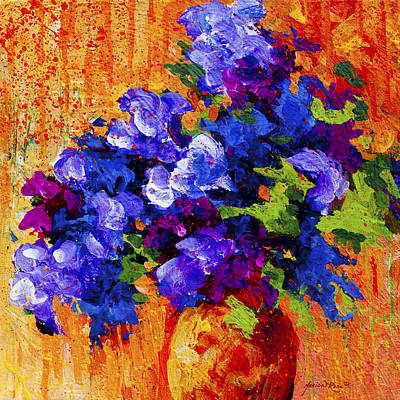 Abstract Landscape Painting - Abstract Boquet 3 by Marion Rose