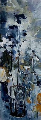 Abstract Royalty-Free and Rights-Managed Images - Abstract Bunch Of Flowers  by Pol Ledent