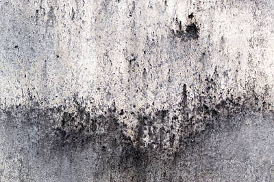 Photograph - Abstract Burnt Cement Background by John Williams