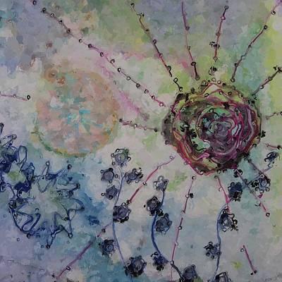 Abstract Burst Art Print