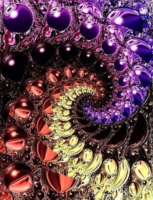 Digital Art - Abstract By Artful Oasis 5 by Artful Oasis