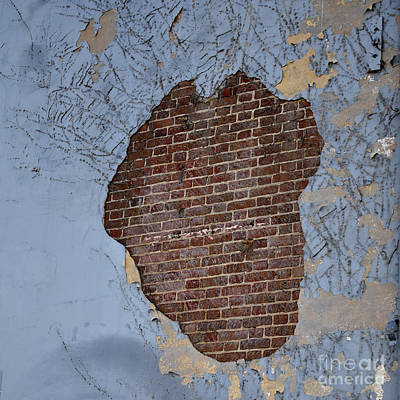 Manipulation Photograph - Abstract By Decay by Skip Willits