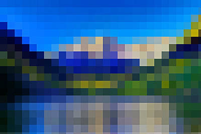 Digital Art - Abstract By Photoshop 25 by Allen Beatty