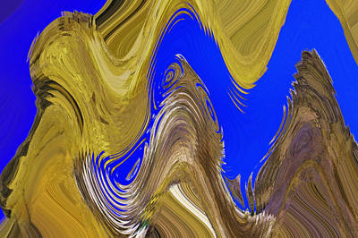 Photograph - Abstract By Photoshop 33 by Allen Beatty