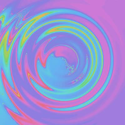 Digital Art - Abstract Camera Lens by Ruth Moratz