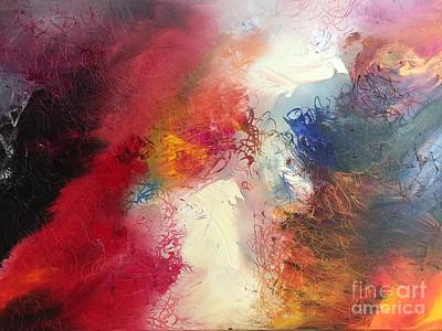 Painting - Abstract by Carrie Maurer
