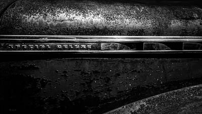 Steel Photograph - Abstract Cars 1941 Special Deluxe by Bob Orsillo