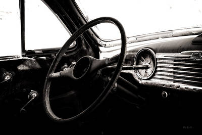 Photograph - Abstract Cars Dashboard Special Deluxe by Bob Orsillo