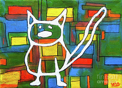 Painting - Abstract Cat II by Gerhardt Isringhaus