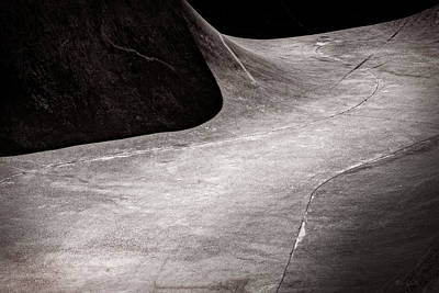Photograph - Abstract Cement Waves by Bob Orsillo