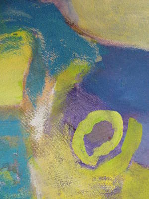 Painting - Abstract Close Up 4 by Anita Burgermeister