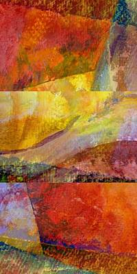 Painting - Abstract Collage No. 3 by Michelle Calkins