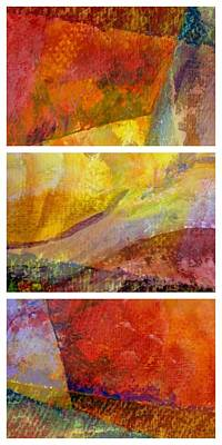 Painting - Abstract Collage No. 4 by Michelle Calkins