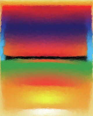 Digital Art - Abstract Color Blends by Gary Grayson
