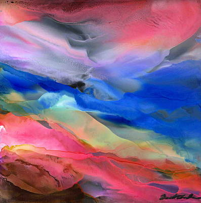 Wall Art - Painting - Abstract Color Fiesta by Alexis Bonavitacola