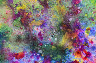 Painting - Abstract Colors 01 by Jakub DK