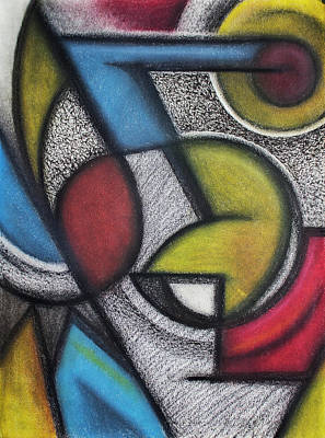 Abstract Shapes Drawing - Abstract Colors by Andre Pinheiro