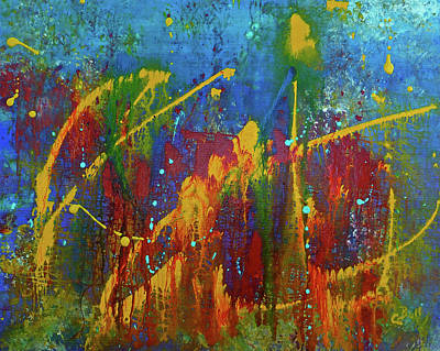 Painting - Abstract Colors by Claire Bull