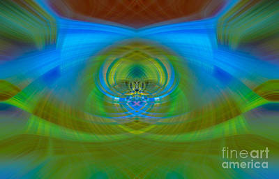 Digital Art - Abstract Colours 01 by Brian Roscorla