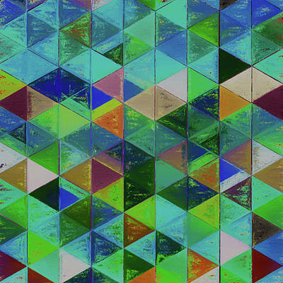 Digital Art - Abstract Composition 196 by Angel Estevez