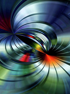 Digital Art - Abstract Composition 24 by Angel Estevez