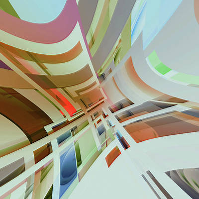 Digital Art - Abstract Composition 574 by Angel Estevez