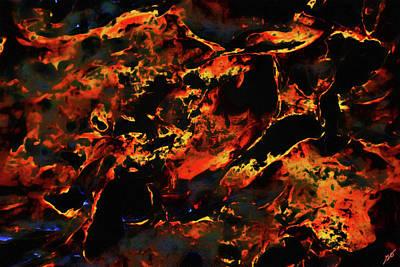 Photograph - Abstract Coquina by Gina O'Brien