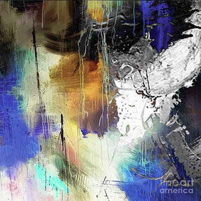 Abstract Dance Art Print by Sadegh Aref