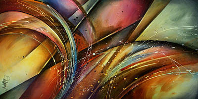 Plane Painting - Abstract Design 111 by Michael Lang
