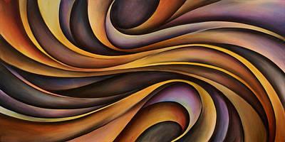 Abstract Design 31 Art Print by Michael Lang