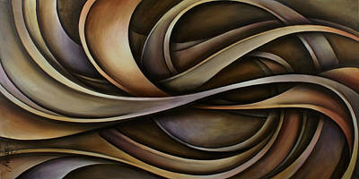Abstract Design 42 Art Print by Michael Lang
