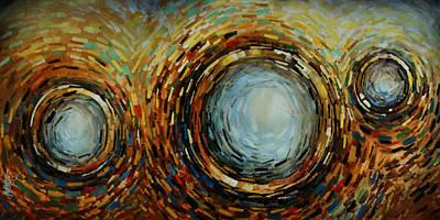 Abstract Design 68 Art Print by Michael Lang