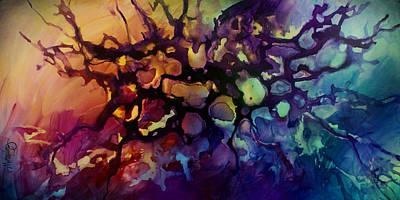 Abstract Design 83 Art Print by Michael Lang