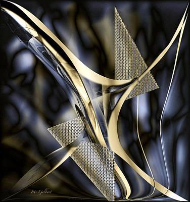 Digital Art - Abstract Design One by Iris Gelbart